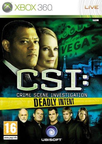 CSI: Crime Scene Investigation - Deadly Intent (Xbox 360)