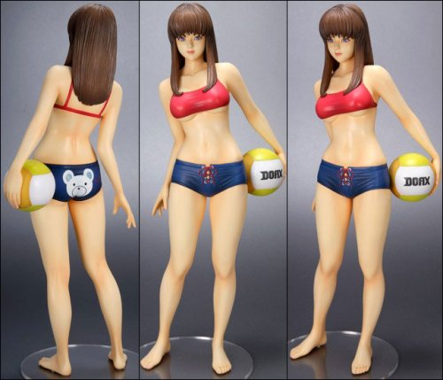 Dead or Alive Extreme Hitomi Beach Volleyball PVC Statue