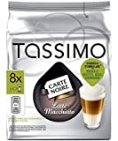 TASSIMO Carte Noire Latte Macchiato 16 discs, 8 Servings (Pack of 5, Total 80 discs, 40 servings)