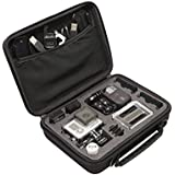 Shock Proof Case For GoPro Hero, Hero 2, Hero 3, Hero 3, Hero 4 And Accessories - Ideal For Storage Or Travel - A Great Protection For Your GoPro Camera