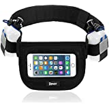 Hydration Running Belt For Runners And Athletes – Sporting Gear - Large Storing Space – Adjustable Exercising...