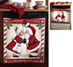 Kissing Santa Decorative Christmas Di...
