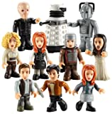 DOCTOR WHO CHARACTER BUILDING SERIES 2 SET OF 10 LOOSE FIGURES