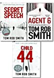 img - for Child 44 Trilogy Collection 3 Books Set Tom Rob Smith Secret Speech, Agent 6 book / textbook / text book