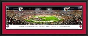 Alabama Crimson Tide - Framed Panoramic Photo by Blakeway