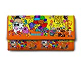 ShopMantra yellow doodles Multicolor Ladies Wallet LW00000246