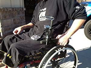 Wheelchair drink / cup holder