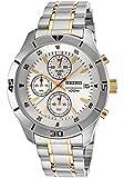 Seiko Men's Stainless Steel Quartz Watch SKS403P1