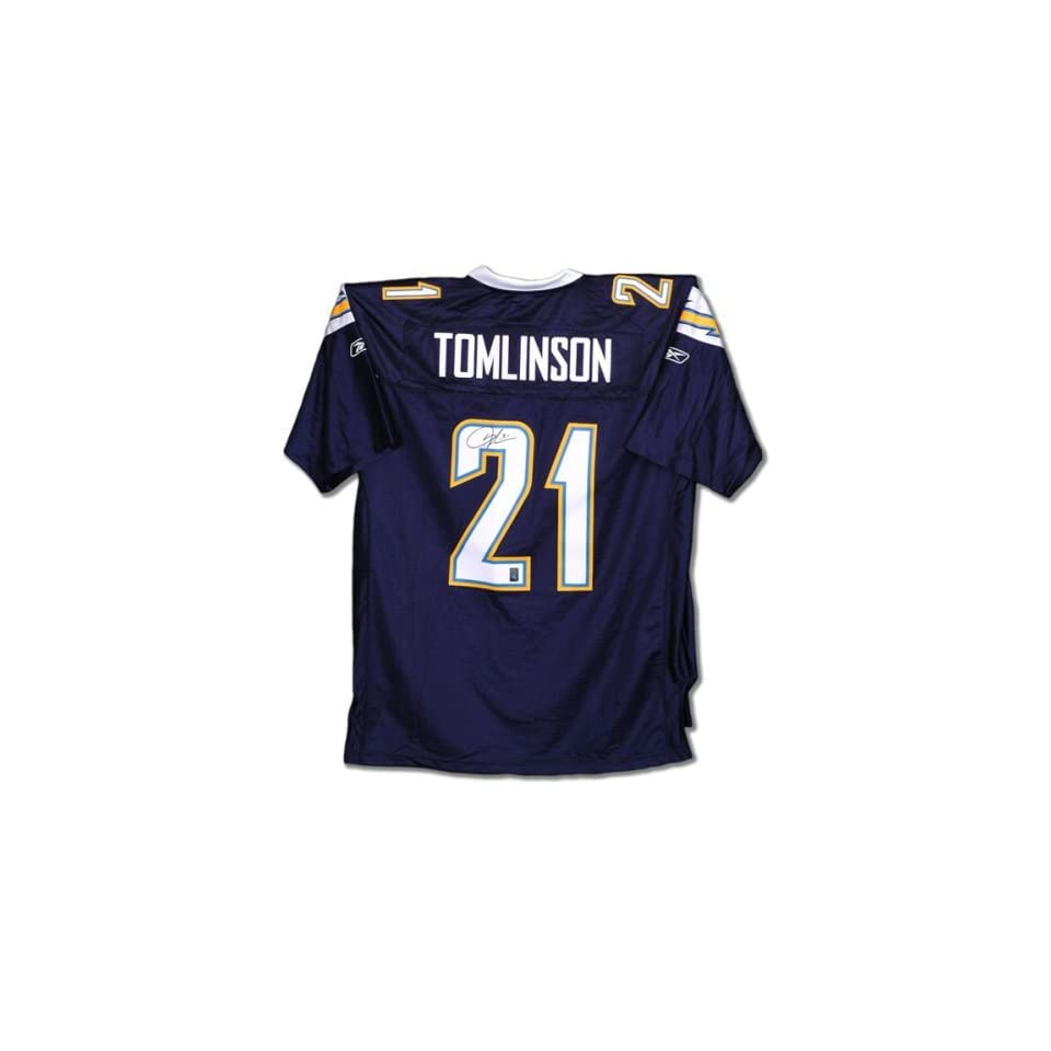 LaDainian Tomlinson San Diego Chargers Autographed Navy Jersey
