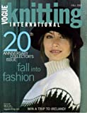 img - for Vogue Knitting International - Fall 2002 book / textbook / text book