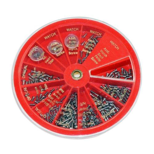 250pc Micro-Screw Assortment for Eyeglasses, Watch & Jewelry Repair