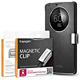 Spigen® LG G3 Quick Circle [Magnetic Clip] Magnetic Holder for LG G3 Quick Circle Cover / Flip Cover for LG G3 **Cover is not included** - Magnetic Clip (SGP11016)