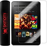 "Skinomi TechSkin - Kindle Fire HD 8.9"" / Kindle Fire HD 8.9"" 4G LTE Screen Protector Ultra Clear Shield + Lifetime Warranty"