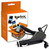 Tigerbox Brand Micro USB In-Car Travel Charger For Amazon Kindle 1 / 2 / 3 / Keyboard 3G / 4, Kindle Touch, Kindle Fire, Kindle Fire HD, Kindle Paperwhite