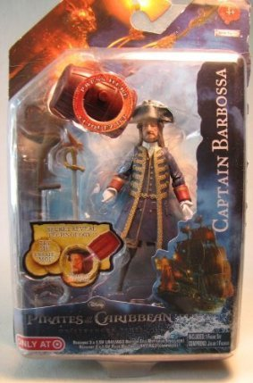 "Pirates of Carribean Magic Reveal- Captain Barbossa 4"" Figure - 1"