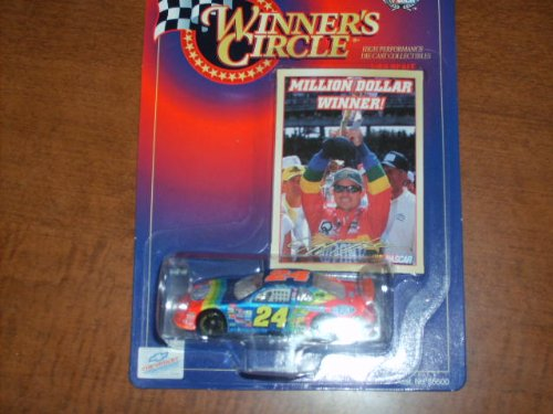 Winner's Circle 1:64 Scale #24 Jeff Gordon DuPont Million Dollar Winner Car - 1