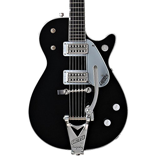 Gretsch Guitars G6128T Duo Jet with Bigsby Electric Guitar Black