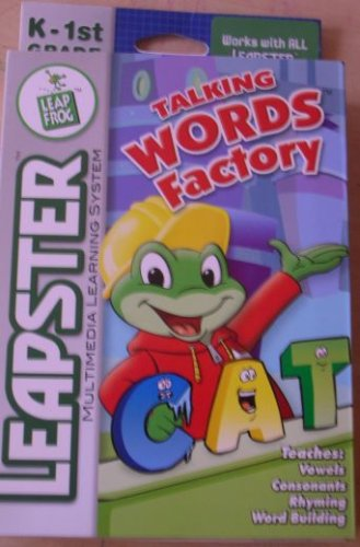 Leapfrog Leapster® Talking Words Factory - 1