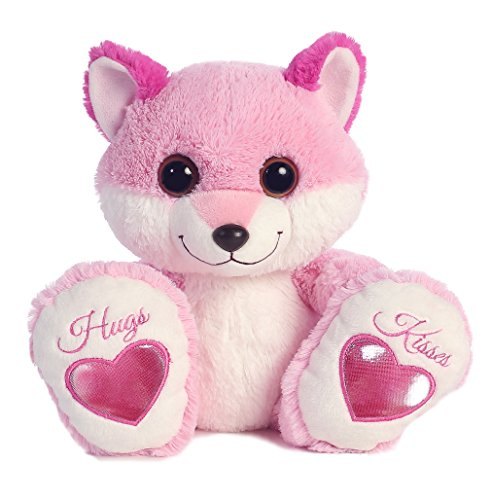 Aurora World Taddle Toes Smitten Foxey Plush - 1