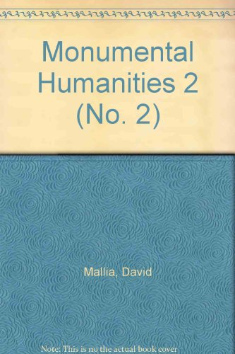 Monumental Humanities 2 (No. 2)