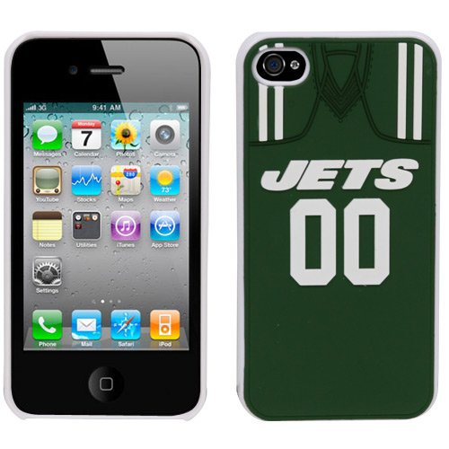NFL New York Jets Jersey Hard Iphone Case at Amazon.com