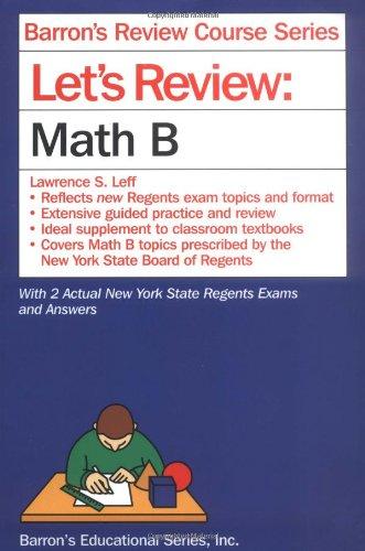 Let's Review Math B
