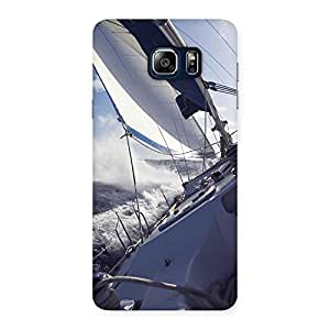 Cute Floating Boat Back Case Cover for Galaxy Note 5