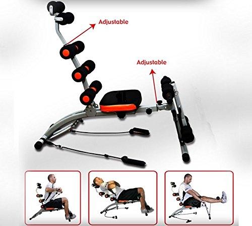 Total Body Trainer Panca per addominali 6 in 1 Total Core per addominali