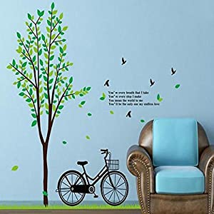 Great Value Wall Decor Large Size Roadside Tree Rural Large Plants Pattern Removable Wallpaper Vinyl Wall Quotes Decals Wall Stickers from Mzamzi