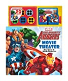 img - for Marvel The Mighty Avengers Movie Theater Storybook & Movie Projector book / textbook / text book