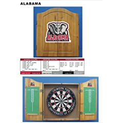 NCAA Dart Board with Cabinet by Imperial