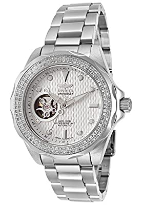 Invicta Women's 15133 Pro Diver Analog Display Japanese Quartz Silver Watch