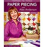 img - for Paper Piecing with Alex Anderson (Paperback) - Common book / textbook / text book