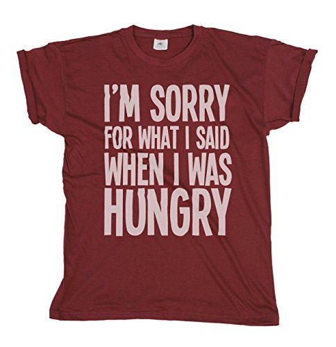 im-sorry-for-what-i-said-when-i-was-hungry-hommes-et-dames-mens-ladies-unisexe-t-shirt