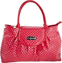 Sourpuss Clothing Classy Dame Purse Red