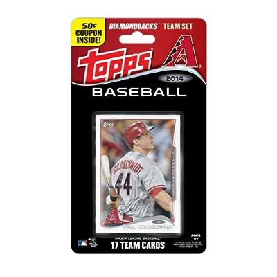 MLB Arizona Diamondbacks 2014 Team Set Trading Card