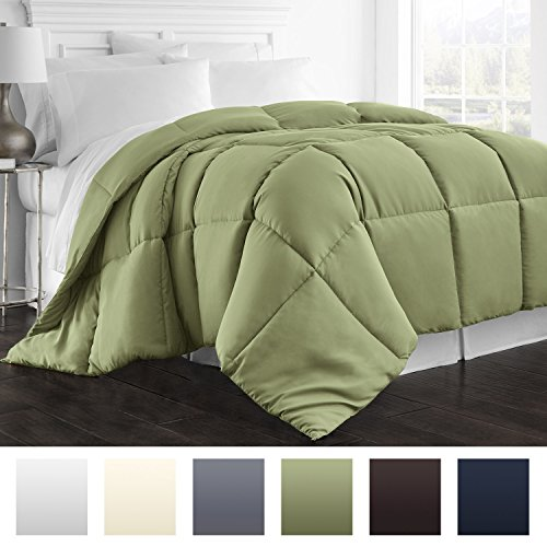 Find Bargain Beckham Hotel Collection Lightweight Luxury Goose Down Alternative Comforter - Hypoalle...