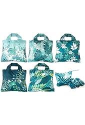 Envirosax Omnisax Botanica 5pk Reusable Bags