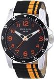 Mike Ellis New York Herren-Armbanduhr XL Analog Quarz Textil M3145/3