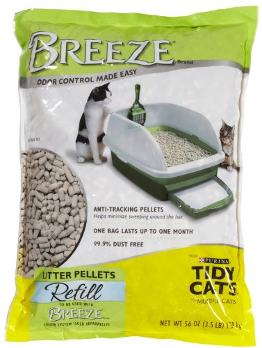 Tidy Cats Breeze Cat Litter Pellets - 3.5 lbs (Tidy Breeze Pellets compare prices)