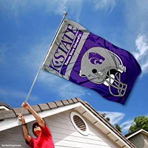 Buy Kansas State Wildcats KSU University Large College Flag by College Flags and Banners Co.