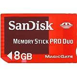 SanDisk PSP 8 Go Carte mémoire MemoryStick pour Sony PSP SDMSG-008G-B46