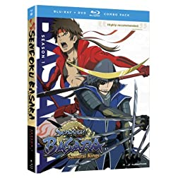 Sengoku Basara: Samurai Kings The Complete Series (Blu-ray/DVD Combo)