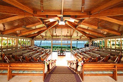 ワールドブライダル リゾートウェディング ハワイ キャルバリー・バイ・ザ・シー教会 プレミアプラン