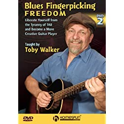 Blues Fingerpicking Freedom DVD #2