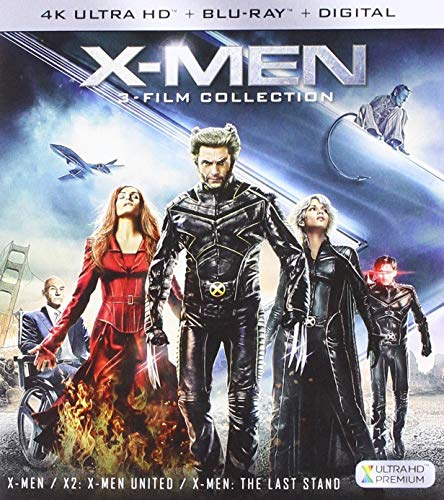 4K Blu-ray : X-men Trilogy (4K Mastering, Subtitled, Widescreen, Dolby, Digital Theater System)