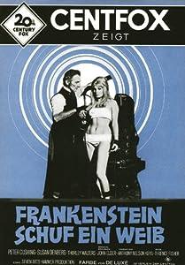 Frankenstein Created Woman Poster Frankenstein Created Woman