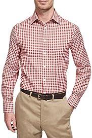 Pure Cotton Dante Checked Shirt [T11-3637F-S]