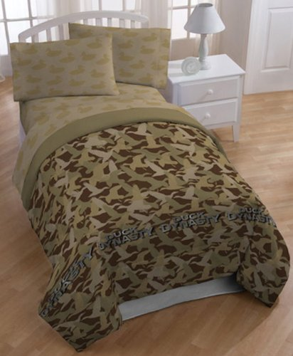 Full Size Camo Bedding 2399 front