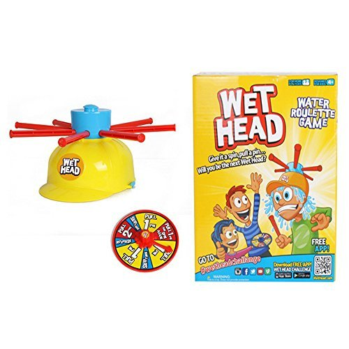 Babrit Wet Head Game Wet Hat Water Challenge Toys Roulette Game For Family Fun (Wet Head Hat compare prices)